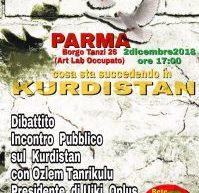 Parma, Cosa sta succedendo in Kurdistan, 2 dicembre