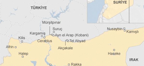 KNK: L'ISIS Aumenta gli Attacchi nel Kurdistan Occidentale (Siria)con il Sostegno della Turchia