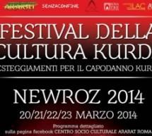 Newroz: Festival della cultura curda 20/23 Marzo a Roma