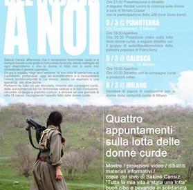 Iniziative verso l'8 marzo Milano