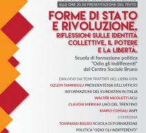 Trento, Forme di Stato e Rivoluzione: riflessioni sulle identità collettive, il potere e la liberta il 20 ottobre