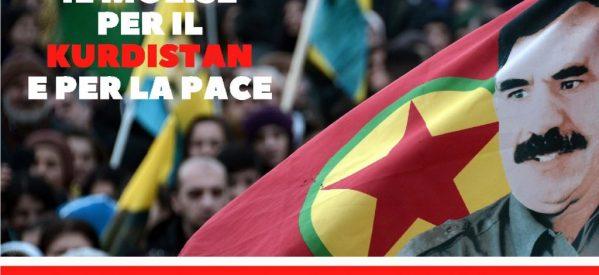 Il Molise per il Kurdistana e per la Pace, 4 maggio a Campobasso cerimonia di Cittadinanza a Ocalan