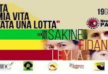 Sê Jinên Azad-Tre Donne Libere:Serata per Sakine, Fidan e Leyla