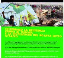 Firenze, Corteo in sostegno alla resistenza kurda in Turchia ed alla rivoluzione del Rojava sotto attacco! 6 maggio