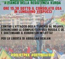 Toscana – Contro l'attacco della Turchia al Rojava, sosteniamo il Kurdistan in lotta!