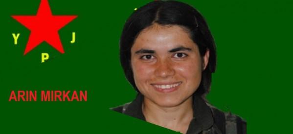 YPG: Il sacrificio di Arîn Mîrkan, la linea della nostra resistenza