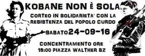 Bolzano & Empoli Manifestazione contemporanea con Roma il 24 settempre