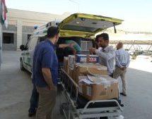 Completata la raccolta e l'invio di un primo carico di medicine in Rojava