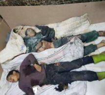 Massacro condotto dall'esercito turco a Cindrese Afrin…..Attenzione: l'immagini per adulti!