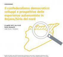 Atti di conferenza a Bolzano: Confederalismo democratico in Rojava/Siria del nord