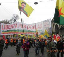 Immagini dalla manifestazione a Milano il 11 febbraio 2017