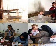Prime elezioni nei territori federati del nord della Siria.