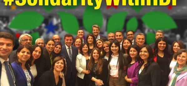 Dichiarazione congiunta di difesa dei deputati del Partito democratico dei popoli (HDP)