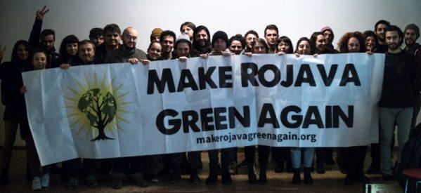 Presentato in Italia 'Make Rojava Green Again'