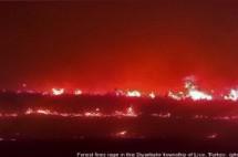 L'esercito turco incendia le foreste del Kurdistan per stanare i guerriglieri del Pkk
