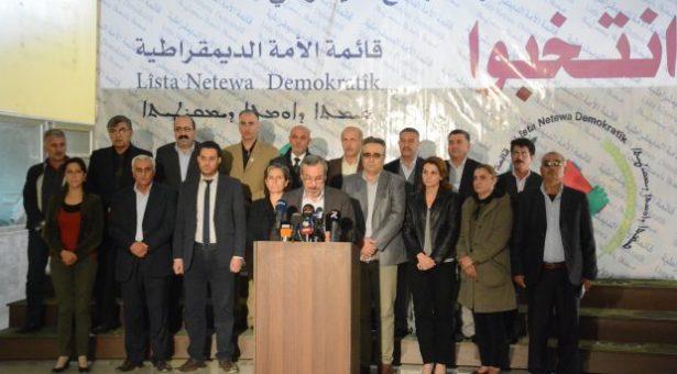 Cizîre: L'EHC rivela i nomi dei candidati accettati per i consigli locali