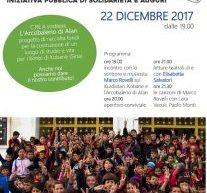 Viareggio- Un mattone per Kobane, il 22 Dicembre