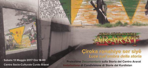 """Roma, Centro Ararat """"Luce sull'ombra della storia"""", il 13 maggio"""