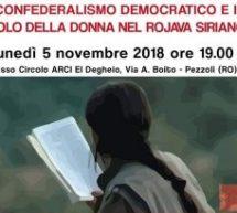Rovigo-Il Confederalismo Democratico e il Ruolo della donna, 5 Novembre
