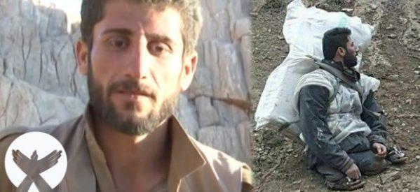 Intervista con il giovane kolber che ha perso le gambe in un'esplosione