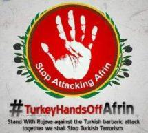 UIKI: Basta con gli attacchi contro Afrin!