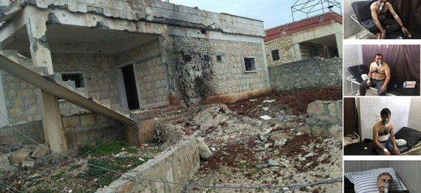 Afrin, L'uso delle Armi Chimiche da parte dell'esercito turco contro i civili