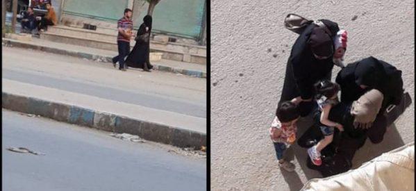 Le donne ad Afrin non possono uscire senza indossare il Burqa