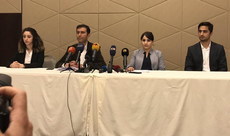 Dichiarazione dello studio legale Asrin sulla visita del presidente della Cedu in Turchia.
