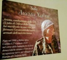 """Ya Basta Bologna dedica la sala a """"Avesta Xabur"""""""