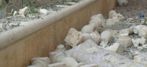 Effetti dei bombardamenti turco su Kafar Janah e Maraaska