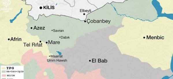 Intrighi turchi e la fase dopo al-Bab