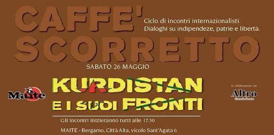 Bergamo, Kurdistan e i suoi fronti, 26 maggio