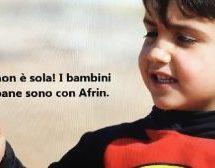 Bambini di Kobane per #Afrin