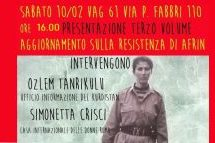 """Bologna, Presentazione del libro """"tutta la mia vita è stata una lotta"""" 3 di Sakine Cansiz"""