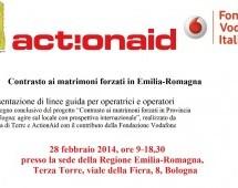 Convegno a Bologna: Contrasto ai matrimoni forzati