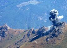 Intenso bombardamento dell'esercito turco in aree di confine