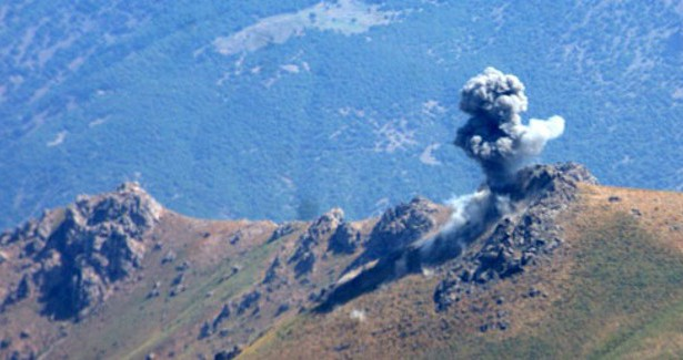 Aerei da guerra turchi bombardano Qendîl