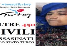 UIKI:  Fermate il terrorismo dello stato turco in Kurdistan!