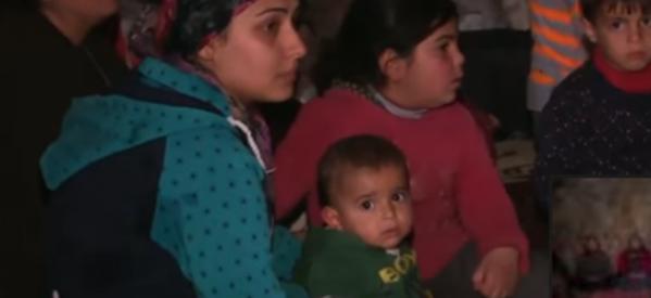 Afrin: i civili in fuga dagli attacchi aerei turchi ricorrono alle grotte