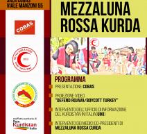 Roma – Cobas incotra mezzaluna rossa kurda, 7 novembre