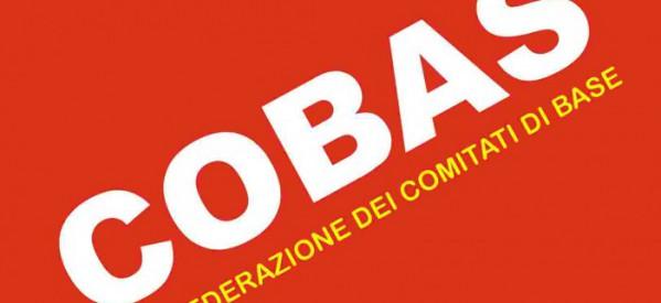 Dichiarazione di Cobas