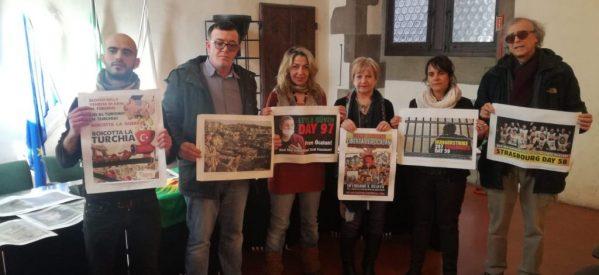 Conferenza Stampa in sala consiliare del comune di Firenze in palazzo vecchio