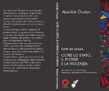 Pubblicato in italiano Scritti dal carcere IV: 'OLTRE LO STATO, IL POTERE E LA VIOLENZA' di Abdullah Ocalan