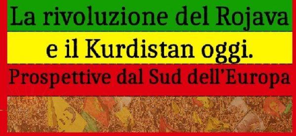Cosenza- La rivoluzione del Rojava e Il Kurdistan oggi – 20 ottobre