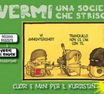 Presentazione e dibattito con l'autore di CUORI E MANI PER IL KURDISTAN il fumetto