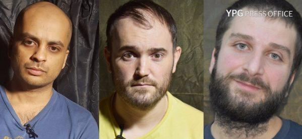 Le YPG catturano tre combattenti stranieri dell'ISIS