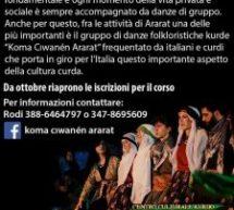 Corso di danze kurde al centro culturale curdo Ararat