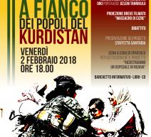 Roma, Defend Afrin: a fianco dei popoli del Kurdistan il 2 febraio