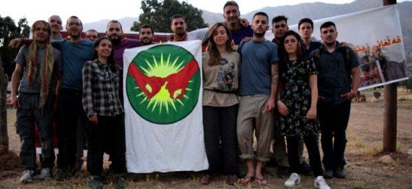 Una delegazione europea si unisce alla campagna Scudi Umani a Qandil