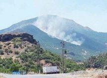 Il fuoco divora la natura a Dersim non rimanete in silenzio!